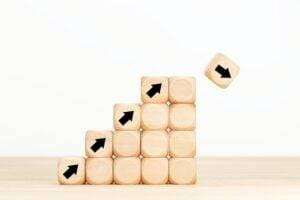 Stock market collapse or financial economy crisis concept