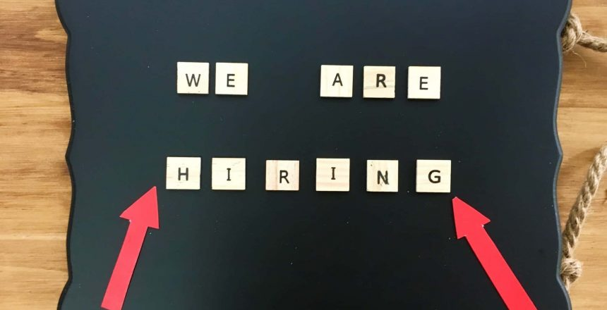 WE ARE HIRING